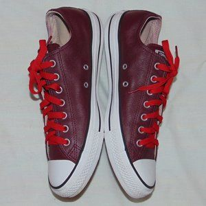Converse All Star Low Leather 149728c Bordeaux